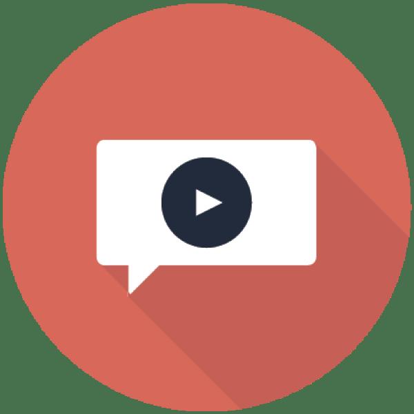 ビデオメッセージボタン